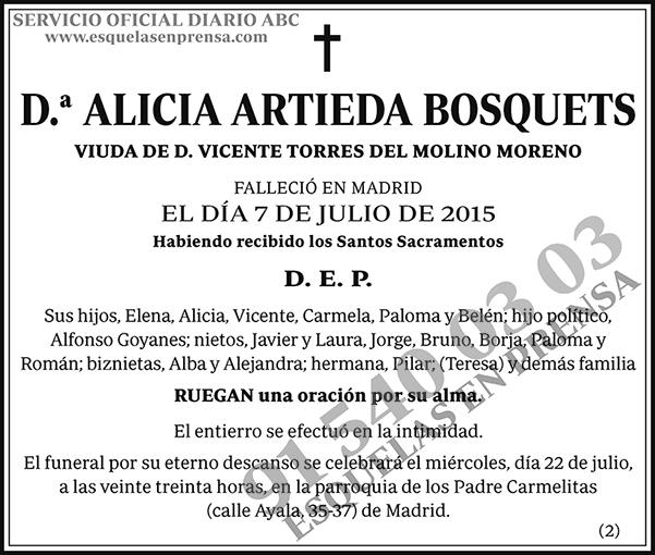 Alicia Artieda Bosquets